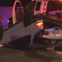 Child in stolen car that crashes during high-speed chase with police