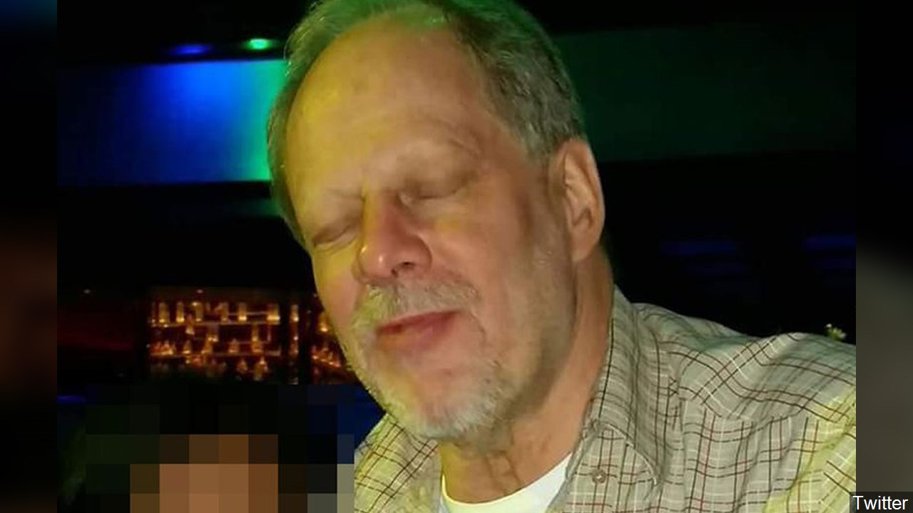 Stephen Paddock, the suspected shooter of the Las Vegas mass shooting, Photo Date: undated MGN Online/Twitter<p></p>