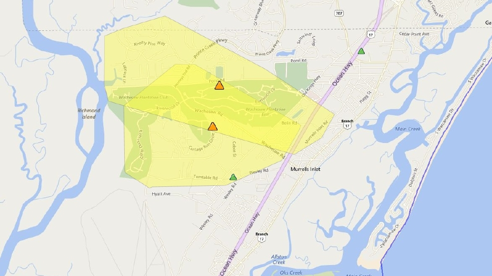 Hundreds Of Santee Cooper Customers Woke Up Without Power Wpde