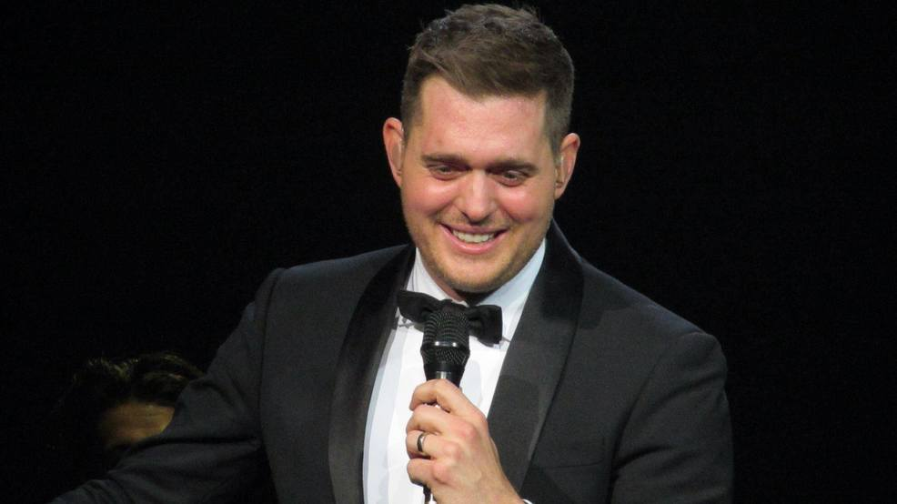 Michael Buble performing in San Antonio on October 19, 2013.(Photo: Maritza Salazar)
