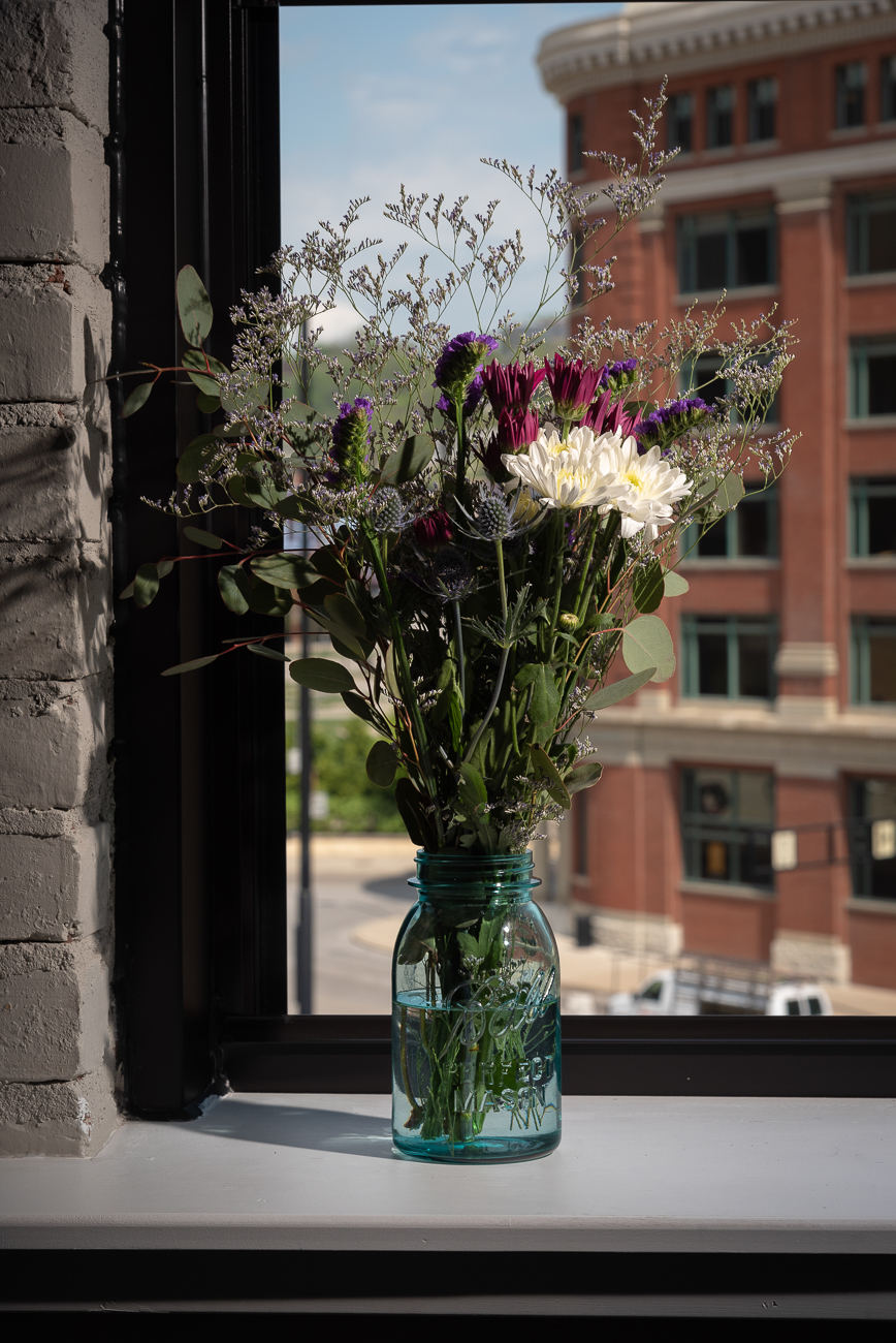 A finished bouquet from Daisy Jane's Flower Truck / Image: Phil Armstrong, Cincinnati Refined // Published: 5.5.19