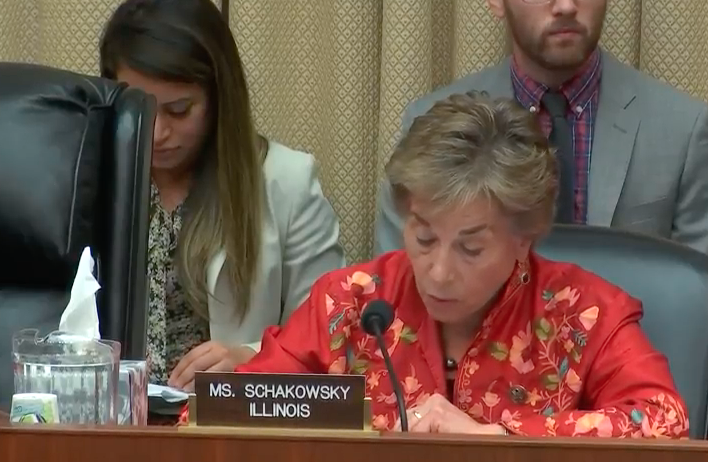 Subcommittee Ranking Member Jan Schakowsky / Photo: Energy and Commerce Committee YouTube Channel<p></p>