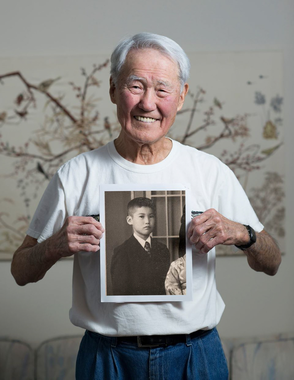 WALTER OKA / He witnessed the bloody attack on Pearl Harbor as a 13-year-old boy. / Read more of his story at facebook.com/theygaveitall. / Image: Patrick McCue // Published: 1.29.17