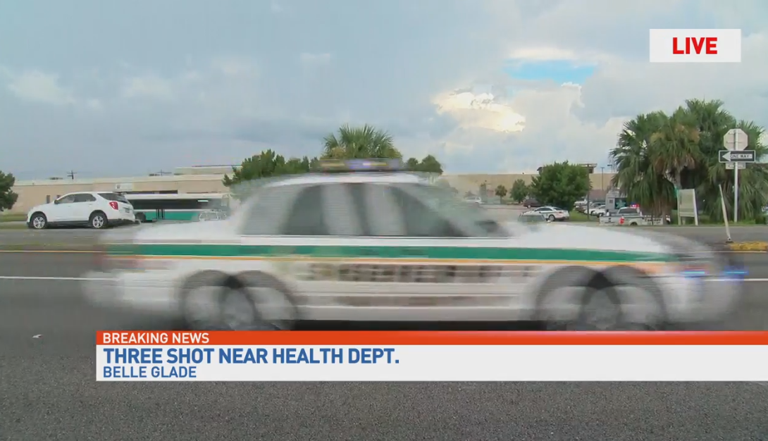 3 injured in Belle Glade Shooting reported near Health Department facility
