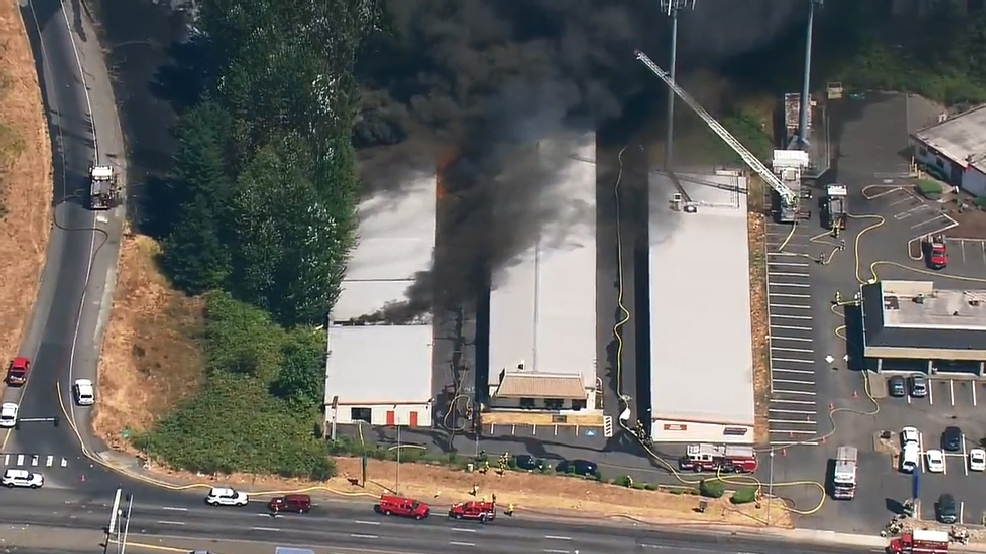 Officials: Cigarette sparked fire at Puyallup storage units
