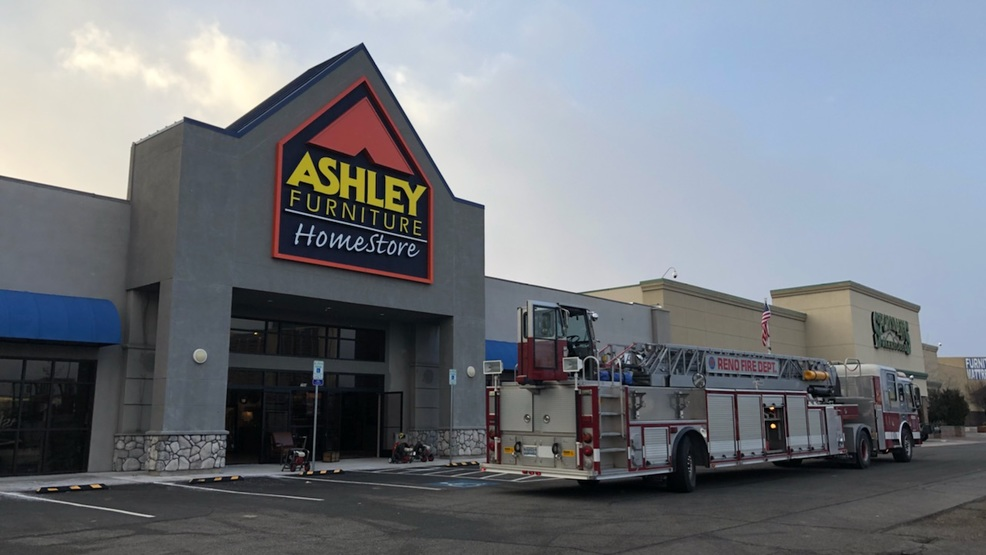 Crews Extinguish Structure Fire Inside Ashley Furniture Store In Reno