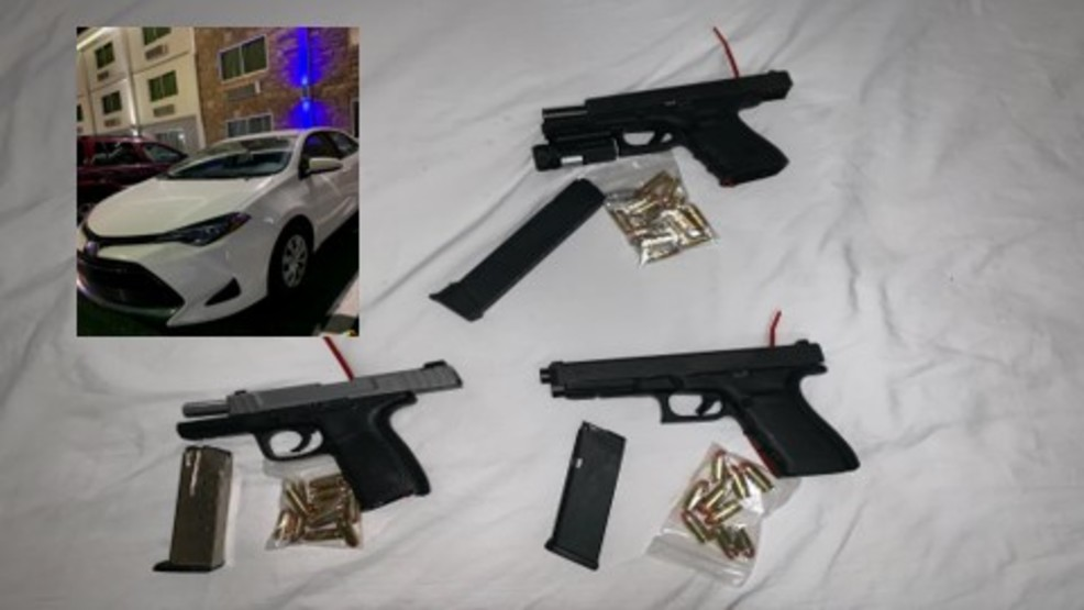 Five teens arrested at Nashville motel; stolen car, guns recovered by Metro Police
