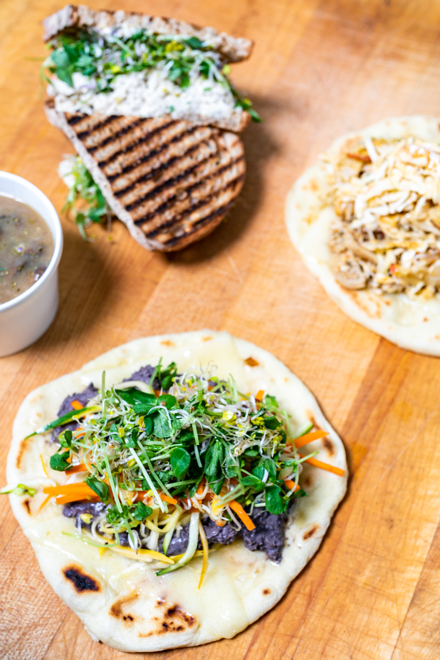 Fabulous Kimchicken, Ya Mon, Pita Piper, and mushroom quinoa soup / Image: Amy Elisabeth Spasoff // Published: 9.29.18