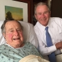 George HW Bush released after latest Houston hospital stay