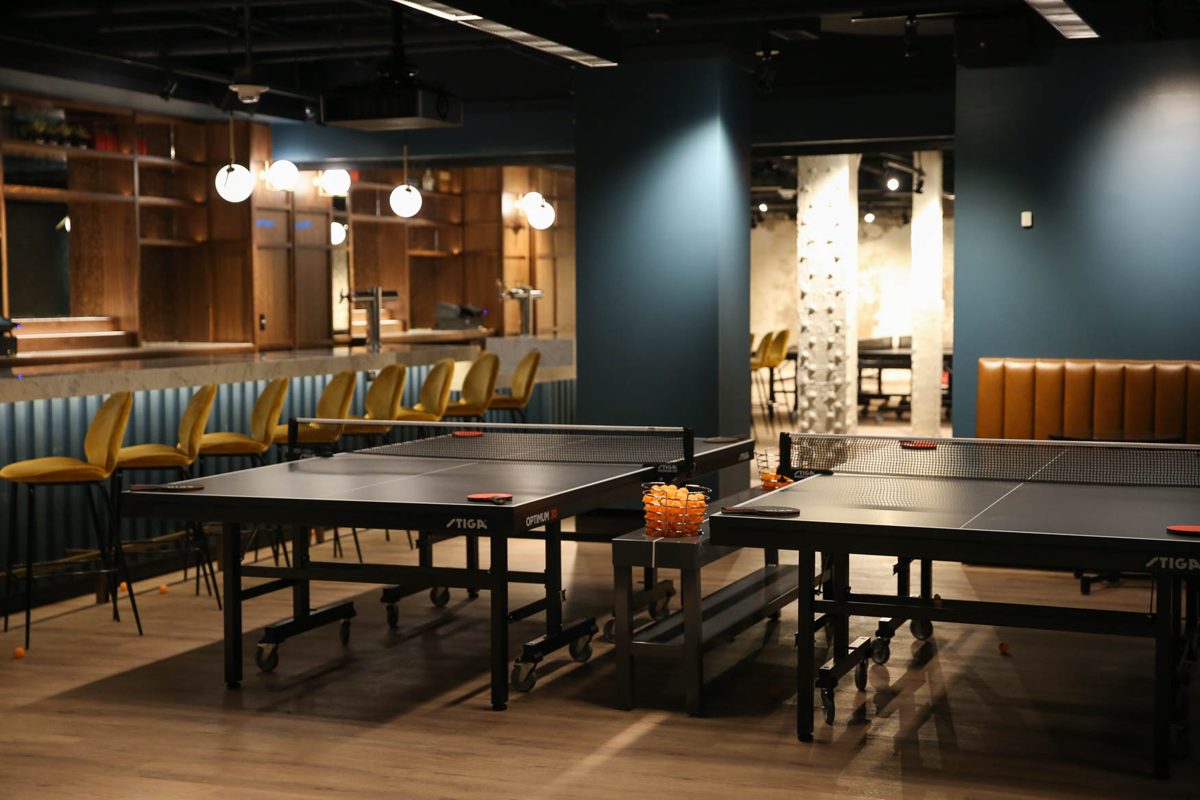 There's now a 12,000-square-foot ping pong palace in downtown D.C. -- do you even need to hear 14 more reasons? (Image: Amanda Andrade-Rhoades/ DC Refined)