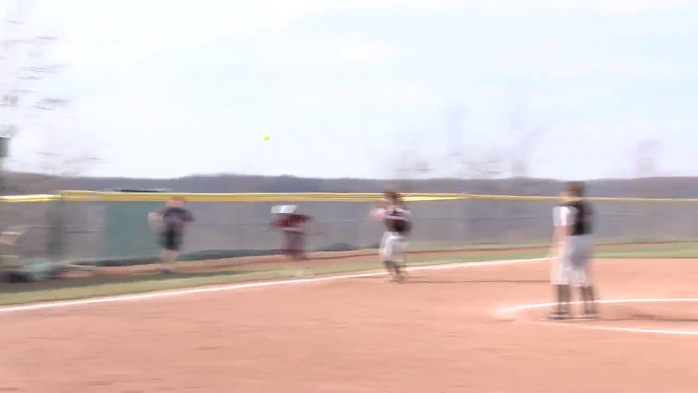 4.12.18 Highlights - Wheeling Central vs Steubenville - high school softball