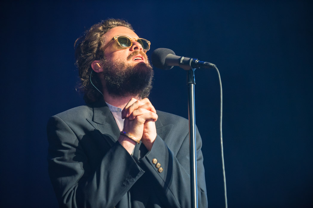 Father John Misty, a Rockville native, performed at the venue's 50th birthday bash. (Photo by Richie Downs, courtesy of Merriwether Post Pavilion)