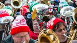 Photos: 27th annual Tuba Christmas Concert in downtown Portland