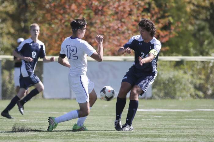 St. Mary's School vs. Cascade Christian, Boys Varsity Soccer at US Cellular Fields. [ // PHOTOS BY: LARRY STAUTH JR]
