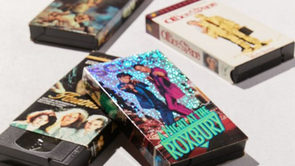 Urban Outfitters selling sets of 5 used VHS tapes for $40