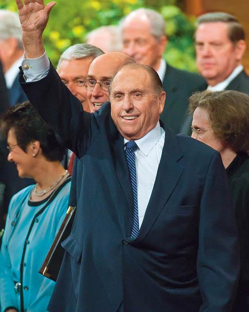 President Thomas S. Monson has served as the 16th president of The Church of Jesus Christ of Latter-day Saints since February 3, 2008. (Photo: MormonNewsroom.org)