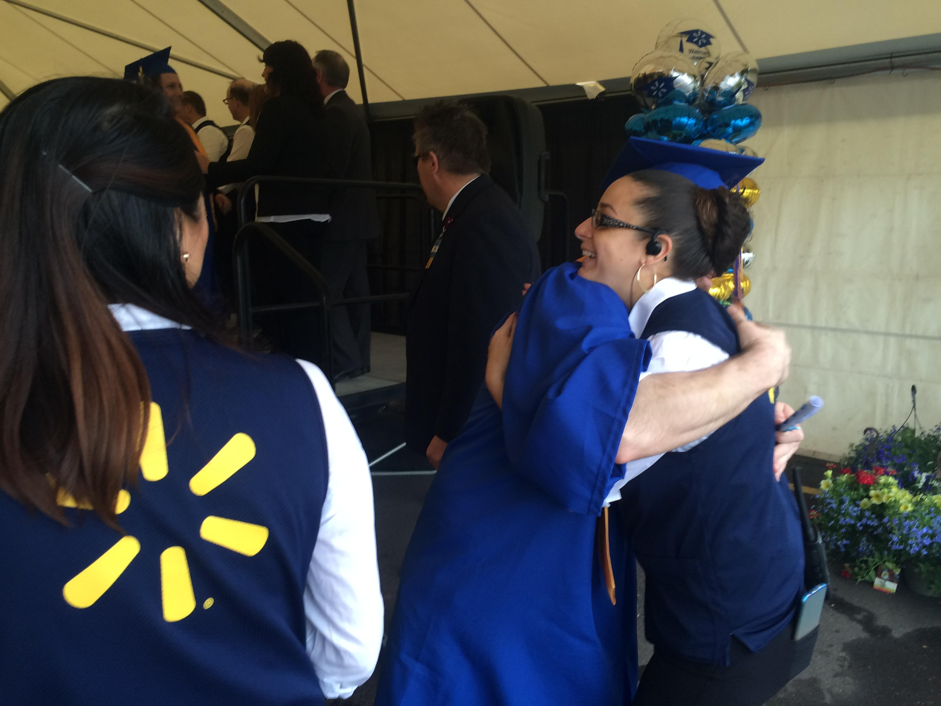 Walmart held a graduation ceremony on May 11, 2017, to recognize the first group of graduates from the new Training Academy that will serve stores in the region. (SBG photo)