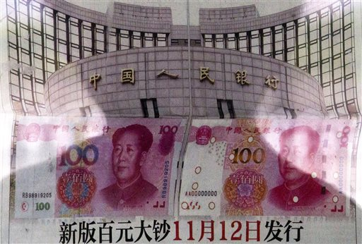 China devalued its tightly controlled currency on Tuesday following a slump in trade, triggering the yuan's biggest one-day decline in a decade.