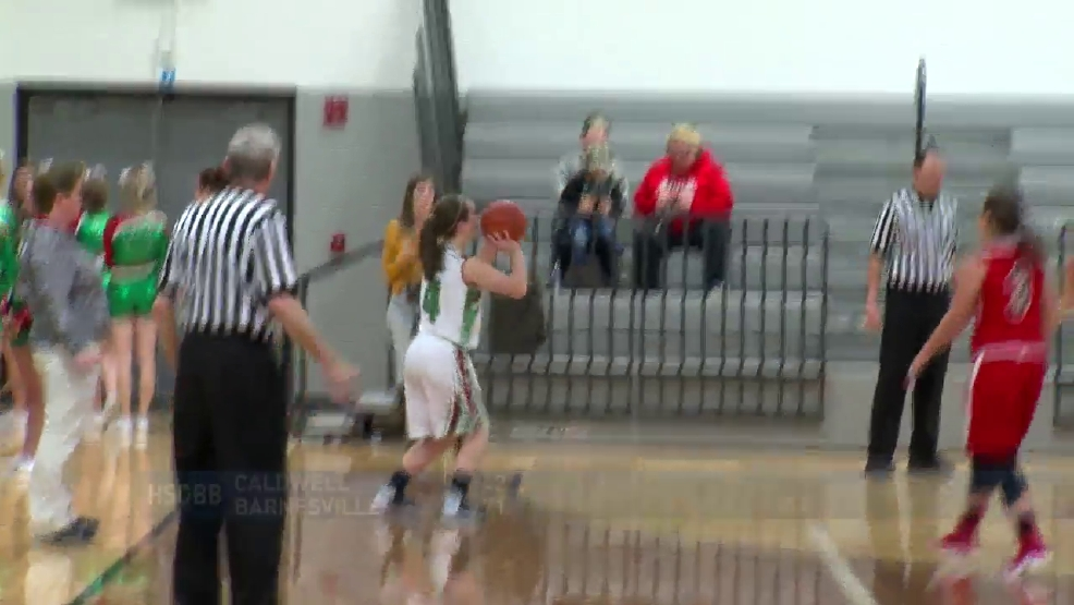 2.2.17 Video- Caldwell vs. Barnesville- high school girls basketball
