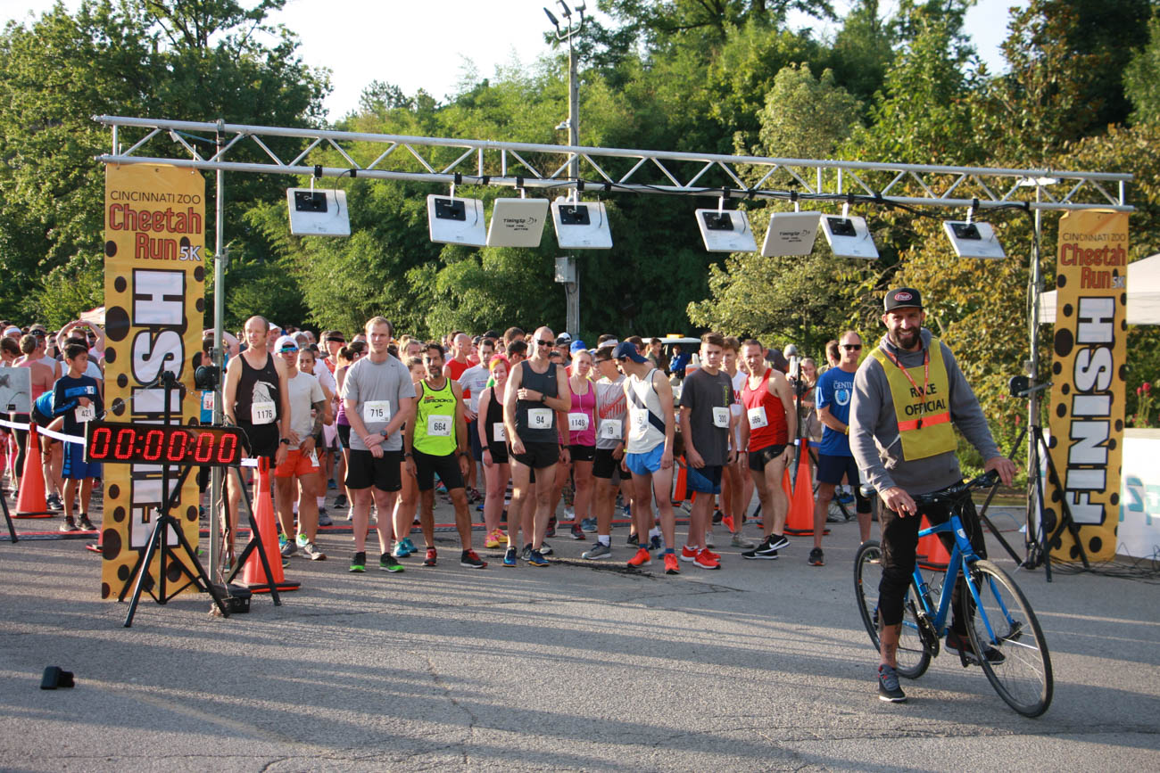 On the morning of Sunday, August 25, the 40th annual Cheetah Run 5K was held at the Cincinnati Zoo. The 3.1-mile course snaked around animal enclosures, scenic gardens, and all around the perimeter of the zoo. Runners received admission to the park and even enjoyed a cheetah encounter after the race. The Cub Run for children under 12 was free and took place after the main race. The proceeds from the run directly benefitted the zoo. / Image: Dr. Richard Sanders // Published: 8.26.19