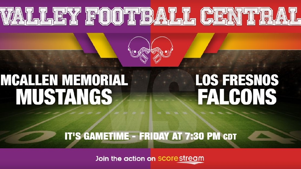 Listen Live: McAllen Memorial Mustangs vs. Los Fresnos Falcons