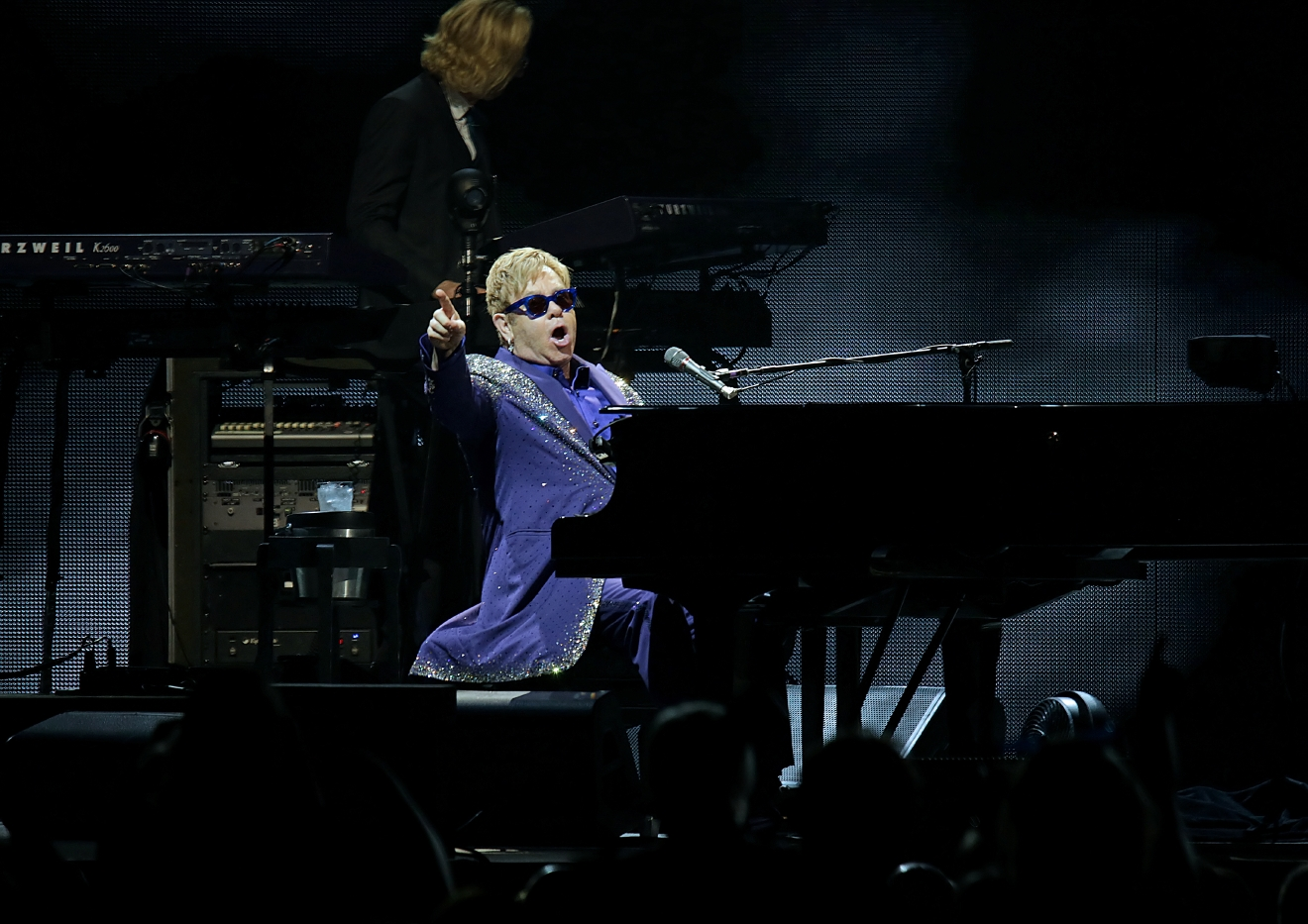 Elton John performs at Echo Arena Liverpool  Featuring: Elton John Where: Liverpool, United Kingdom When: 14 Jun 2016 Credit: Sakura/WENN.com