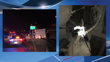 Semi with brakes tied together with plastic grocery bag crashes on I-5 interchange
