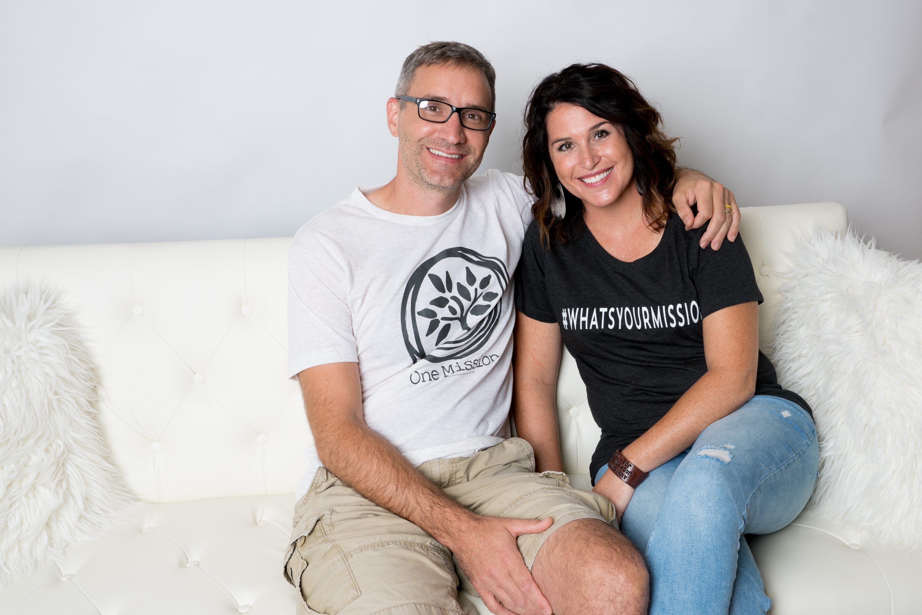 John and Amanda Rhomberg, founders of One Mission Fundraising of Mount Vernon, Iowa.{&amp;nbsp;}<p></p>