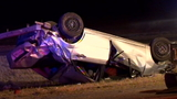 Couple ejected from car, suffer serious injuries in rollover accident