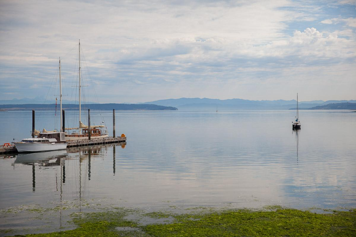 Penn Cove's beautiful waters (Image: Paola Thomas / Seattle Refined)