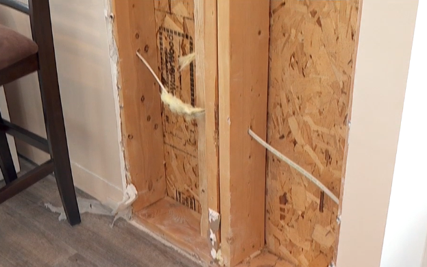 Kitchen remodel leaves home severely damaged, builder fined for lack of permits (Photo: KUTV)
