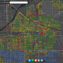 The City has unveiled a new interactive map to show conditions of roadways