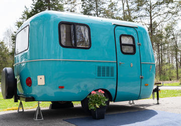 Add a Little Vintage Flair to Your Camping Trip With One of