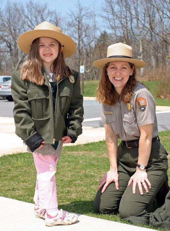 If you've got a little one aged 7 to 12-years-old, encourage them to take part in the Junior Ranger program.{ }(File photo)