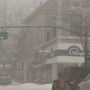 Drivers deal with heavy snow in Emmet County