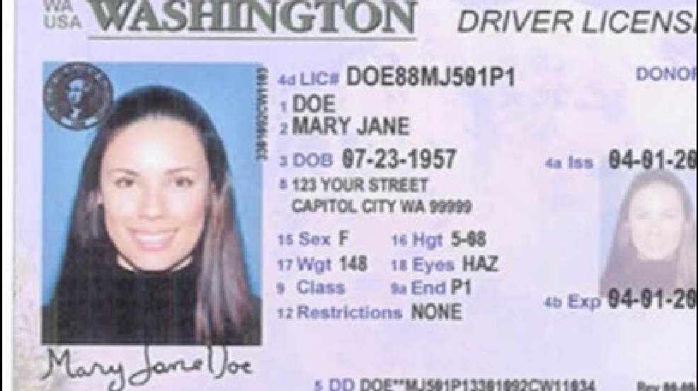 Washington state drivers license types | Get Your WA Drivers