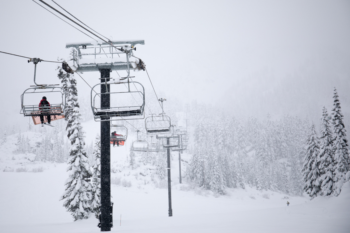 Photos from Stevens Pass on Nov. 15, 2017 on the eve of their Opening Day for 2017 (Photo: Stevens Pass Ski Resort)