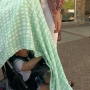 Blankets over strollers could be dangerous for kids on hot days, doctor says