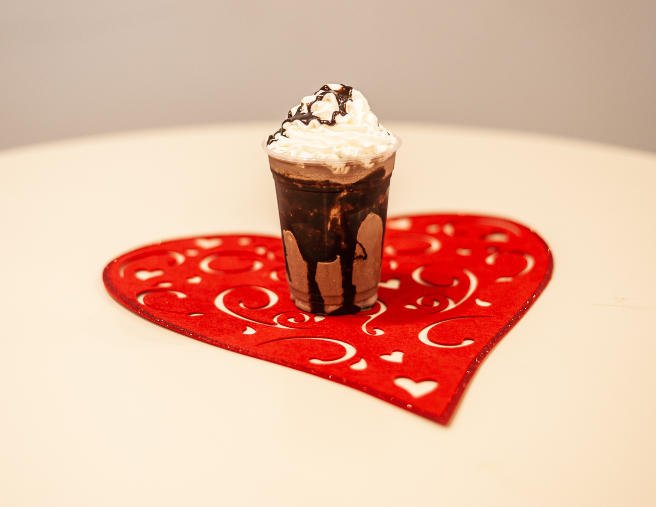 Chocolate frappe{ }/ Image: Kellie Coleman // Published: 1.31.21