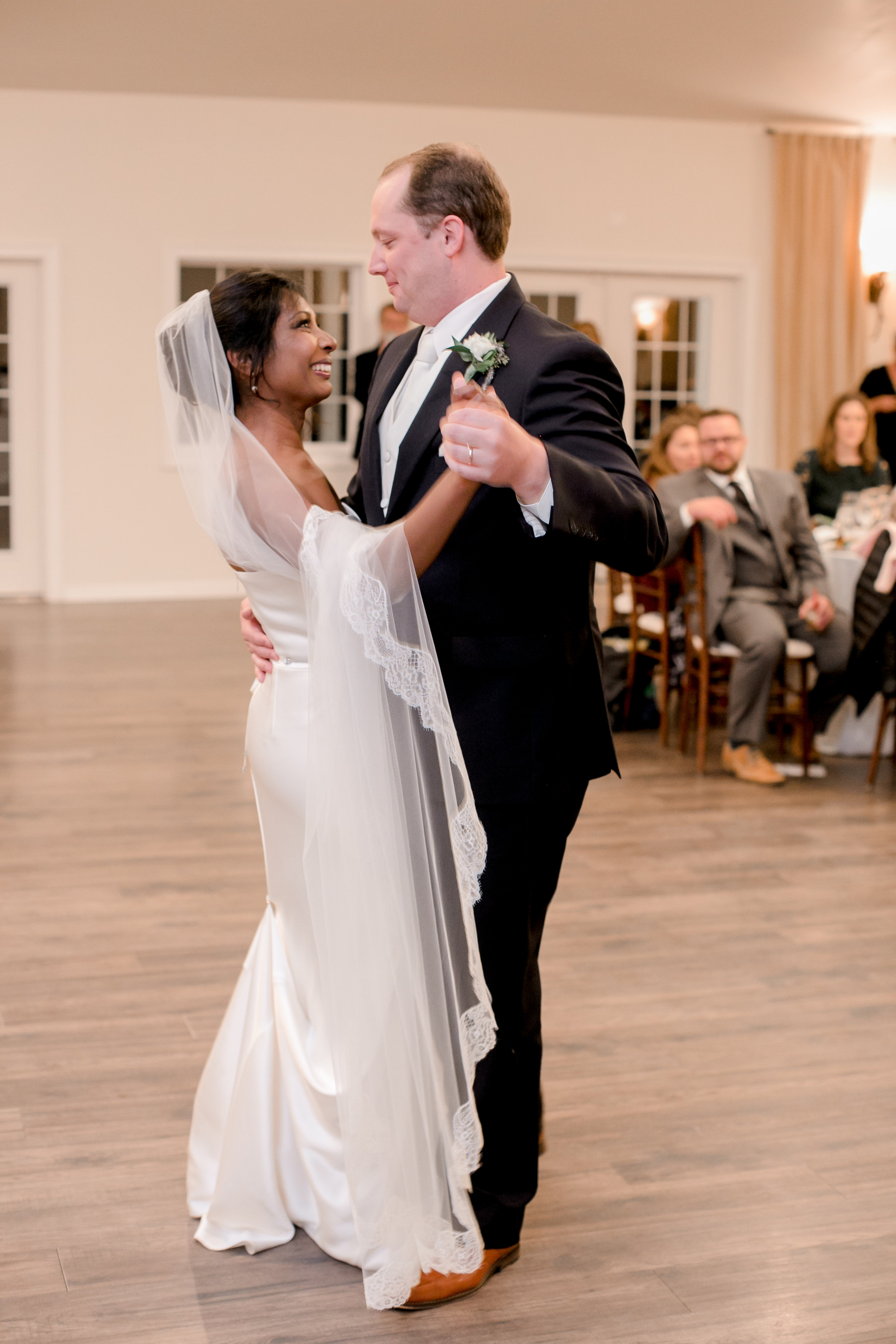 The couple both says the best moment of their wedding was ... (Image:{ }Cecilie Olaussen Photography)