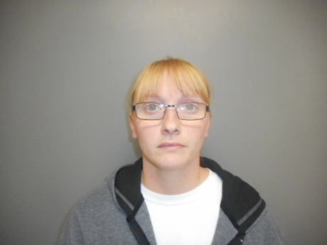 Candice Hasbrouck, 34, charged with theft for embezzling money from St. John's Lutheran Church in Cozad. (Courtesy: Dawson County Sheriff's Office)