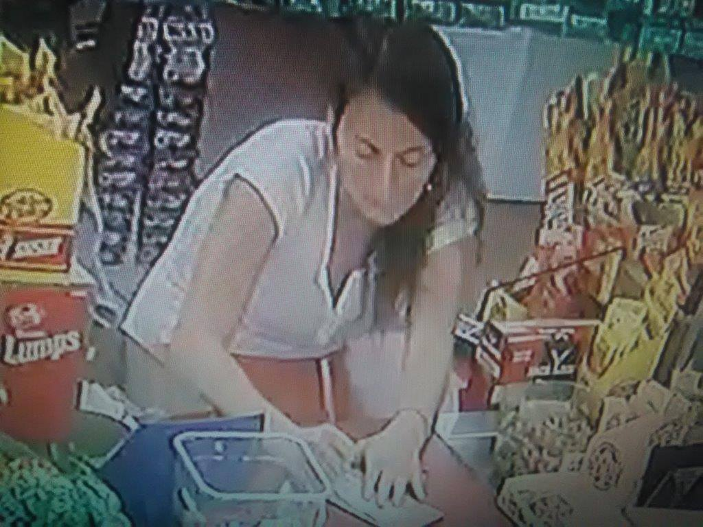 Sylvester police need your help identifying a woman believed to be connected to a wallet theft and financial transaction card fraud. / Photo: Sylvester Police Department
