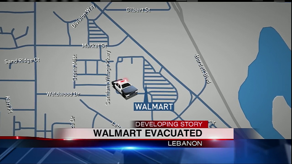 Police Investigation Underway After Lebanon Walmart Evacuated - Large world map walmart