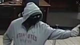 Armed man on the run after robbing Orchard Street bank