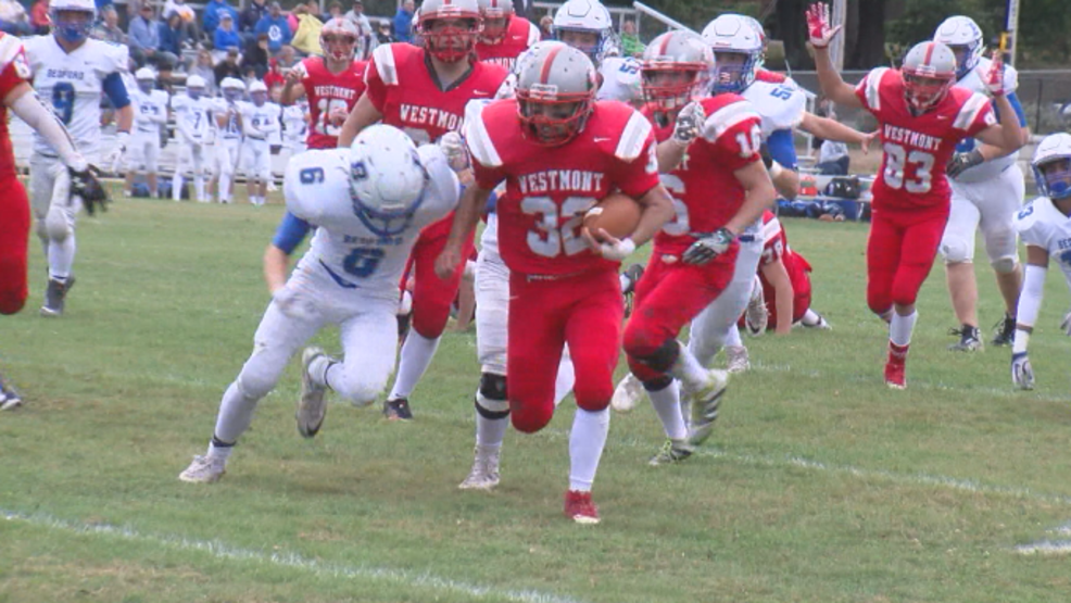 Westmont Hilltop runs past Bedford 34-7