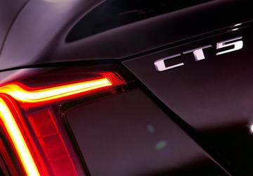 Cadillac releases first photos of CT5 sedan before NY Auto Show introduction