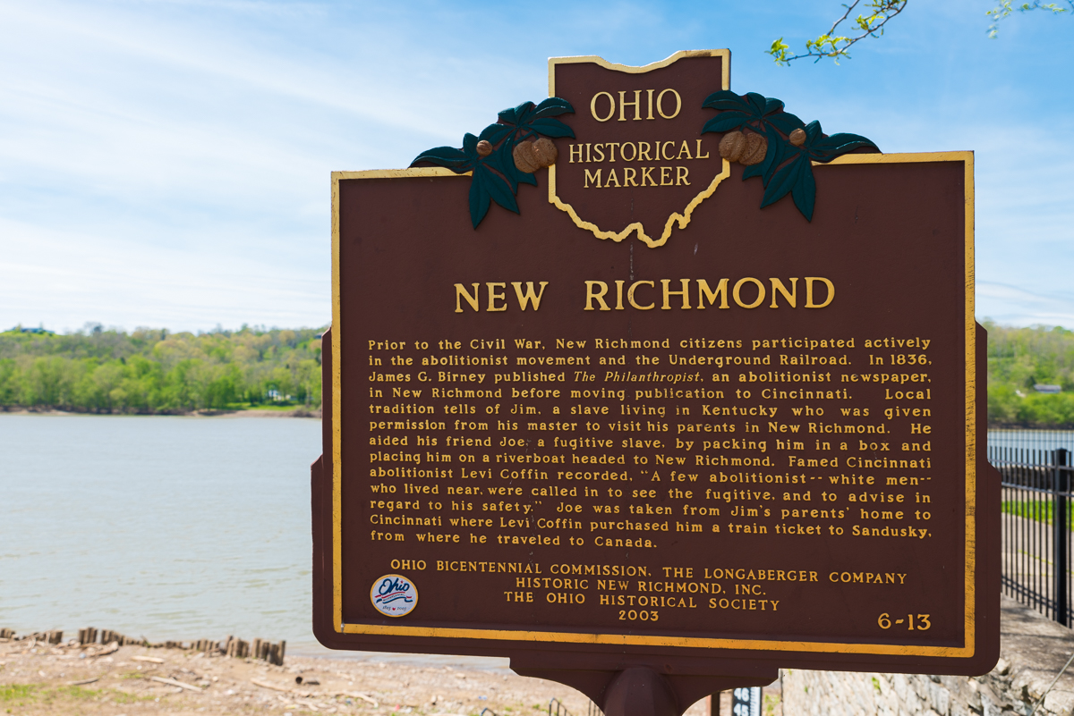 New Richmond, located along the river at the lower left corner of Clermont County, was formally established in 1814 by Jacob Light. Measuring a total of 3.72 square miles and with under 3,000 inhabitants, New Richmond has long been a refuge for residents, small business, and classic river town beauty. / Image: Sherry Lachelle Photography // Published: 5.22.17
