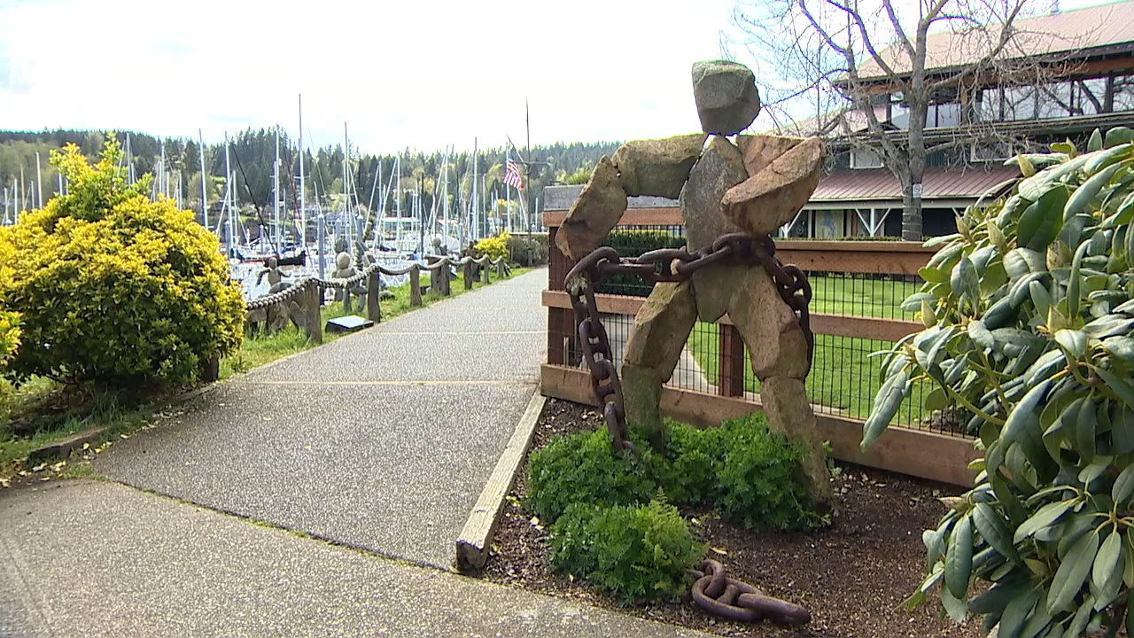 The city of Bainbridge Island wants to bring new artwork to the community, and the city is looking for ideas from the public on where it should all go. (Photo: KOMO News)