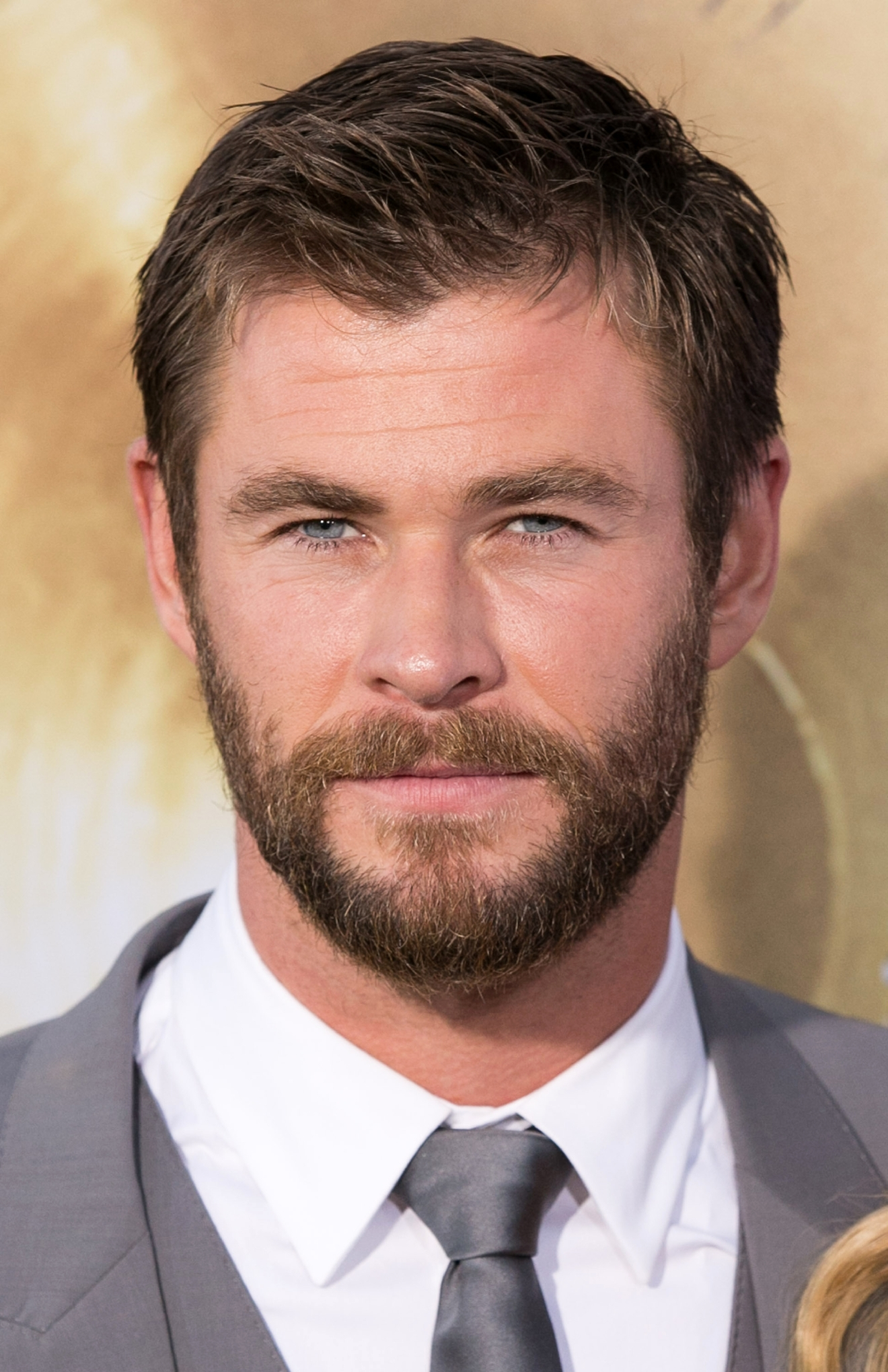 Chris Hemsworth attends The Huntsman: Winter's War Premiere at  Regency Village Theater in Westwood. (Brian To/WENN.com)