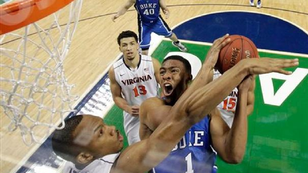 No. 6 U.Va. beats No. 7 Duke 72-63 for ACC title | WJLA Jabari Parker Nba Draft